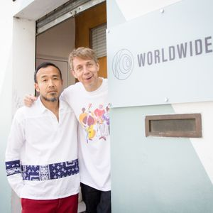 Gilles Peterson with Toshio Matsuura // 22-05-17