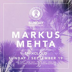 Markus Mehta - Sunday Transmissions Live #6 (19.09.2021)