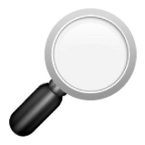 The Emoji Suite: Right-Pointing Magnifying Glass
