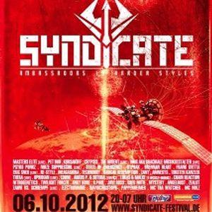 GREG NOTILL - SYNDICATE 2012 promo Set