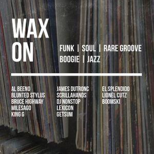 Wax On #7 - King G - 09.08.2015 - Live @ Rumpus Room