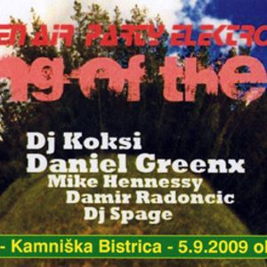 Damir Radoncic - live @King Of Hill no.1 - 5.9.2009