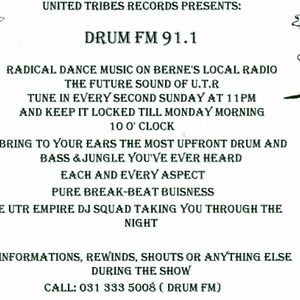Bryan G @ DRUM FM 91.1 Radio RaBe Late 1997 Part 1