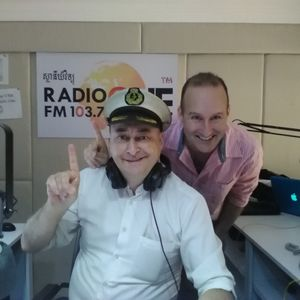 Robert Carmichael talks to Radio One FM 103.7's Captain Tikei on the Good Morning Cambodia Show