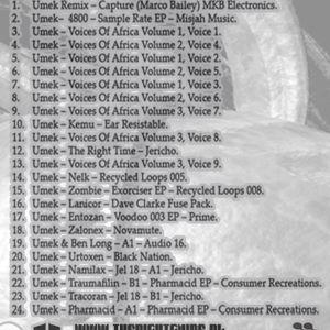 Matt Tako - 100% Vinyl Umek Mix