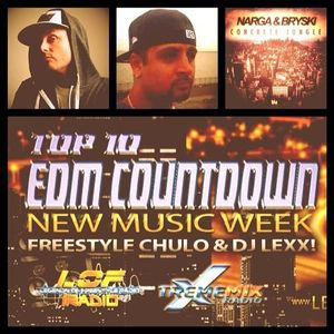 Top 10 EDM Countdown Show with Freestyle Chulo & DJ Lexx February 18, 2014