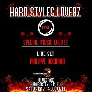 Dj Philippe Rochard - Hard Styles Loverz - 14.00 -15.00 - Saturday 28 January