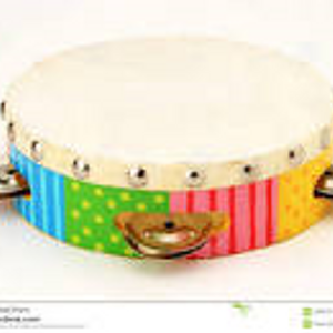Four tambourines...bringing it all back home...to the troika.