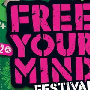 Mathias Kaden - Live @ Free Your Mind Festival, Stadsblokken Arnhem (Netherlands) - 02-06-2012