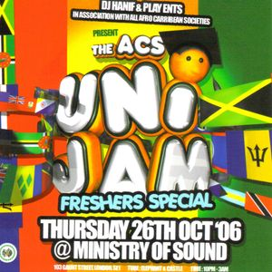 UNI-JAM Mixtape 10/06