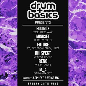 Mindset - Drum+Basics Promo Mix