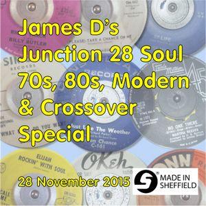 James D's Junction 28 Soul Lounge Special 28 November 2015