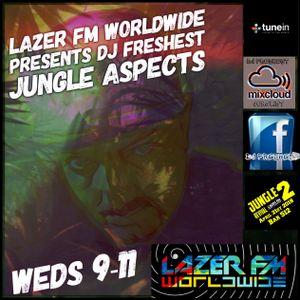 dj freshest jungle aspects  lazer fm christmas