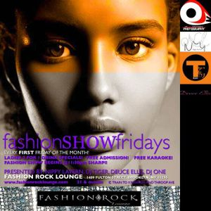 Fashion Show Fridays Promo Mix