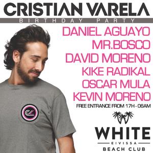Cristian Varela Birthday Party at White Club