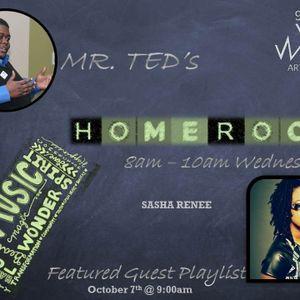 Sasha Renee comes to HomeRoom