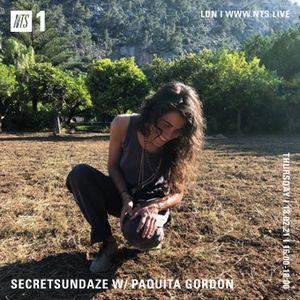 Secretsundaze w/ Paquita Gordon- 18th February 2021
