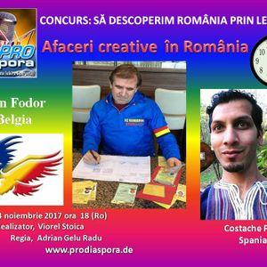 Afaceri Creative în România, emisiunea XXXIV -24.11.2017-