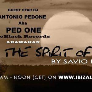 Dj Ped One -  Spirit Of Africa by Savio De Simone  for IBIZA live Radio - Monday 2016-09-26