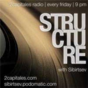 Structure Radio Show 010 (2Capitales Radio, Paris) fresh'n'exclusive by Kristina Vixen (08.04.2011)