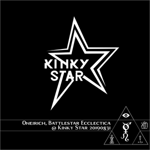 Oneirich at Battlestar Ecclectica in the Kinky Star, Gent BE 20190831