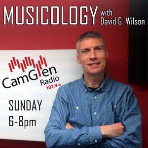 Musicology with David G. Wilson, 8 January 2017