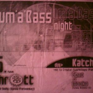 Katcha - Drum'n'Bass Night live in Schrott  Zlin CZ 01-06-2001