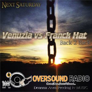 Vénuzia and Franck Hat Back to Back Guest Mix for Oversoundradio
