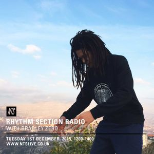Rhythm Section w/ Bradley Zero - 1st December 2015