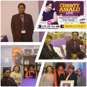 Christy Amalu live on London Hott Radio 191217