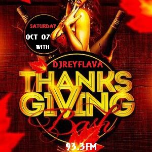 THANKS GIVING BASH PARTY PROMO