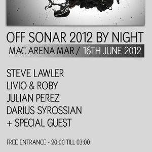 Steve Lawler - Live @ Sonar VIVA Music Showcase, Macarena Club, Barcelona, Espanha (16.06.2012)