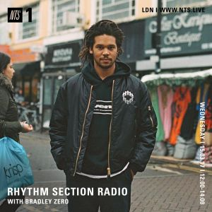 Rhythm Section w/ Bradley Zero - 15th March 2017