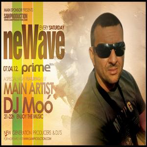 Sawproduction - NeWave: Moó aka. Leslie Moor Live mix on Prime FM (2012-04-07)