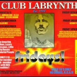 DJ Manic & Adrian Age - Labrynth - 4 Aces club, 12 Dalstan lane - Early 90's