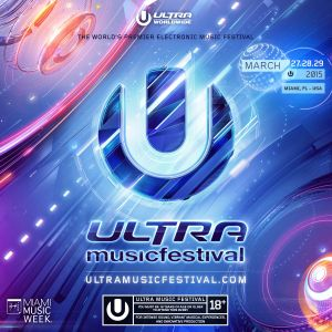 Hardwell - live at Ultra Music Festival Main stage WMC 2015 Miami - 28-mar-2015