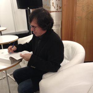 """Mircea Cărtărescu, despre """"Solenoid"""", la librăria Humanitas de la Cişmigiu, 15 decembrie 2015"""