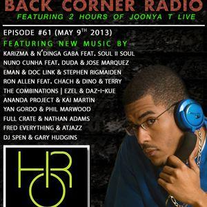 BACK CORNER RADIO: Episode #61 (May 9th 2013)