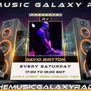 MUSIC GALAXY RADIO 88.2 FM / MIX LIVE & DIRECT FROM UK / USA DJ DAVID BRITTON 3/18/17