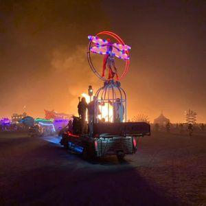 Kokomotive Burning Man