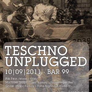 PIK-FEIN @ Bar99 FFM - Teschno unplugged - 10/09/11  part 1