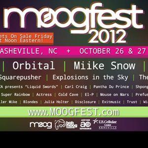 Richie Hawtin - Live @ Moogfest 2012, U.S. Cellular Center, Ashville, E.U.A. (27.10.2012)