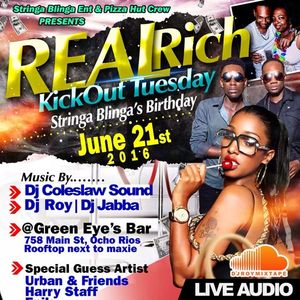DJ ROY X DJ JABBA [LIVE AUDIO] REAL RICH PARTY CLUB ORION 21.6.2016