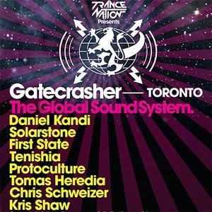 Kris Shaw - Live at Gatecrasher Toronto - 09.11.2012