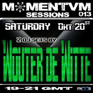 Momentvm Sessions 013 - Wouter de Witte (2 dj sets) 2012-10-20 Fnoob Techno radio