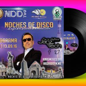 Noches de Disco | Programa 153 | 13.09.16