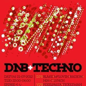 Blake @ Bonkers DNB + Techno (21-7-2012), Set #1.