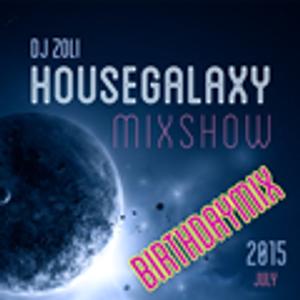 Dj Zoli - HouseGalaxy MixshoW July - Birthdaymix