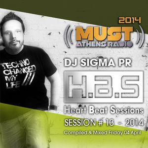 Dj Stergios T. aka Sigma Pr - HBS 04 April 2014 @ Radio Must (Athens)