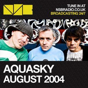 Aquasky - NSB Radio - August 2004